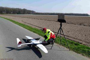 Senkrechtstarter-Drohne schafft Überblick bei Katastrophen