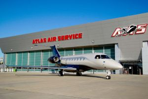 Atlas Air Service autorisiertes Service Center für Legacy 450/500