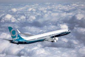 Boeing 737 MAX 9 beim ersten Flug