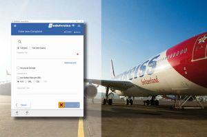 Edelweiss Air: Flugzeugwartung und Cockpit Papierlos