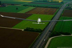 Testflug: Solarsegler fliegt in Stratosphäre