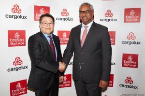 Zusammenarbeit von Emirates SkyCargo und Cargolux