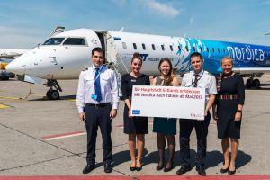 Nordica hebt von Berlin nach Tallinn ab