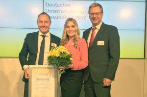 Unternehmenspreis Gesundheit für Flughafen Frankfurt