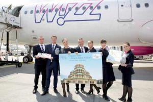 Wizz Air startet jetzt ab Flughafen Frankfurt