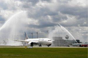 Dreamliner aus San Francisco nach München im Einsatz