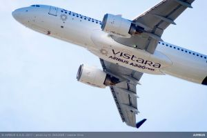 A320neo an Vistara aus Indien übergeben