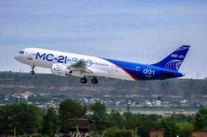 MC-21: Neuer Passagierjet aus Russland meistert Jungfernflug