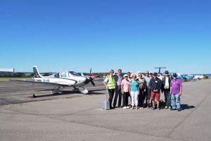Cirrus-Piloten der COPA flogen am EDNY ein