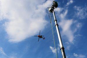 Kirchentag ein Großereignis für Luftüberwachung