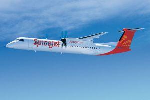 50 Bombardier Q400 für indische SpiceJet
