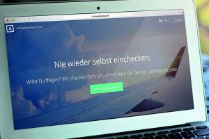 Lufthansa bündelt online-Check-in für Reisende und Airlines