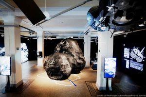 Planetenpreis für Ausstellung um Komet Chury und Rosetta
