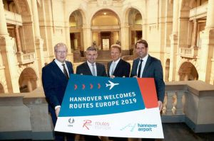 Routes Europe 2019 findet am Hannover Airport statt