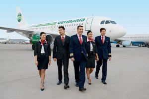 Germania stationiert dritten Airbus in Nürnberg