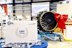 1.000 CF34-Triebwerke von MTU Maintenance flott gemacht