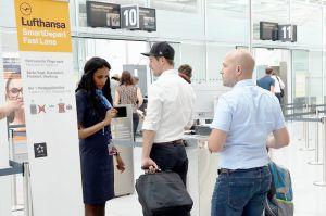 Lufthansa plant eigene Sicherheitskontrolle für schnelleres Bording