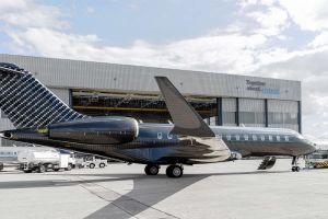 Bombardier Global Express XRS im Spezialdesign Carboneum