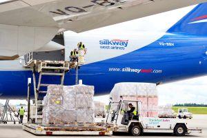 Mossul erhält Hilfsgüter über Frankfurt-Hahn